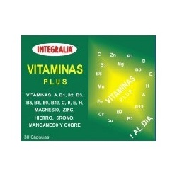 VITAMINAS PLUS 30 CAP INTEGRALIA